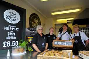 Ged Bell's Family Butchers - upper crust when it comes to making pies
