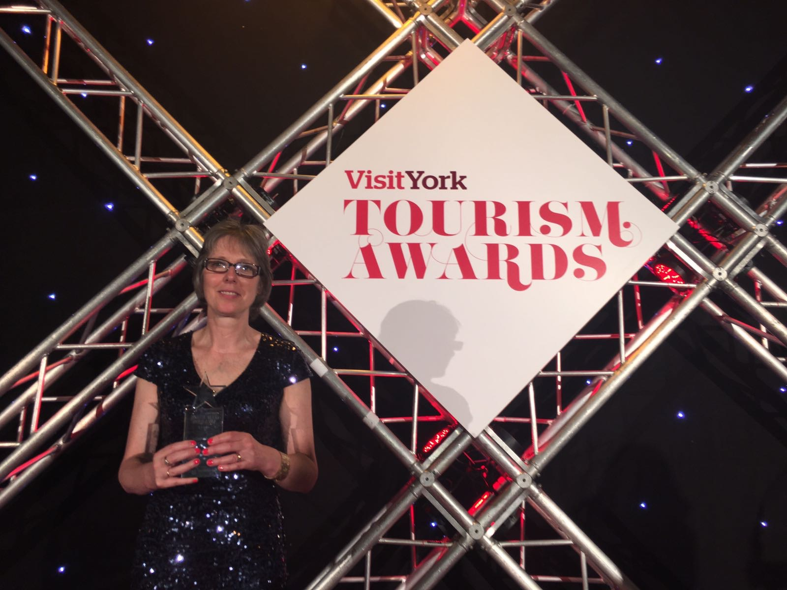 Alison Storey of York Racecourse wins tourism award